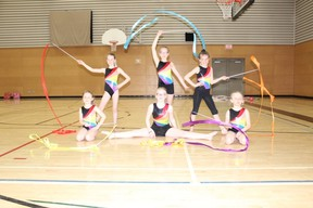 The Northeast Rhythms rhythmic gymnastic group hosted an Open Gym at Swartout Hall in the Kerry Vickar Centre  on Saturday, April  21 which included a performance for a large crowd that was in attendance.