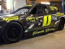 Submitted photo Belleville's Tyler French (#0) will sport a new colour when he returns to Brighton Speedway for the 51st season opener this Saturday ito defend his Bill's Johns Comp 4 Division championship.
