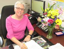 <p>St. Columban's Catholic School administrative assistant Louise Tait, recognized on Administrative Professionals' Day, on Wednesday, April 25, 2018, in Cornwall, Ont. </p><p> Todd Hambleton/Cornwall Standard-Freeholder/Postmedia Network