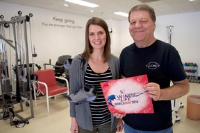 Research co-ordinator Stephanie Marrocco (left) and scientist Dalton Wolfe have organized a charity run in London May 6 that will benefit Wings For Life Spinal Cord Research Foundation. (Chris Montanini/Londoner)
