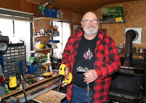 Despite the decline of independent golf retailers, John Cairns still manages to pursue his passion repairing golf clubs for a list of dedicated clients. (Jeffrey Reed // Special to Postmedia News)
