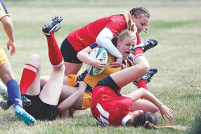 The 24th annual Lynn Davies High School Rugby Tournament runs Friday and Saturday at the Strathcona Druids fields in Sherwood Park. File Photo