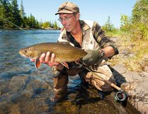 James Smedley eventually catches some big brook trout, but none that fought as fiercely as the first big one that got away.