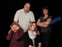 <p>Some of the cast members from the upcoming May 2018 Seaway Valley Theatre Company's production of Vanya and Sonia and Masha and Spike, seen in this photo provided by Frank Burelle, are Neil Carriere (Vanya), Lacie Petrynka (Masha), Shelley Cameron (Sonia) and Chantal Raymond (Cassandra).</p><p> Handout/Cornwall Standard-Freeholder/Postmedia Network