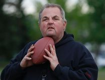 Logan Clow/Grande Prairie Daily Herald-Tribune Tony Wanke returns for his second stint as head coach of the Northern Anarchy women's football team. The Anarchy kick off the Western Women's Canadian Football League season this Saturday at CKC Field when the Edmonton Storm come to town. Game time is set for 5 p.m.