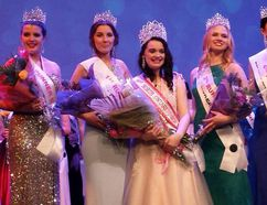 Photo supplied. Chelmsford's Maya Brunet won the 2018 Miss North Ontario Regional Canada Pageant on the weekend