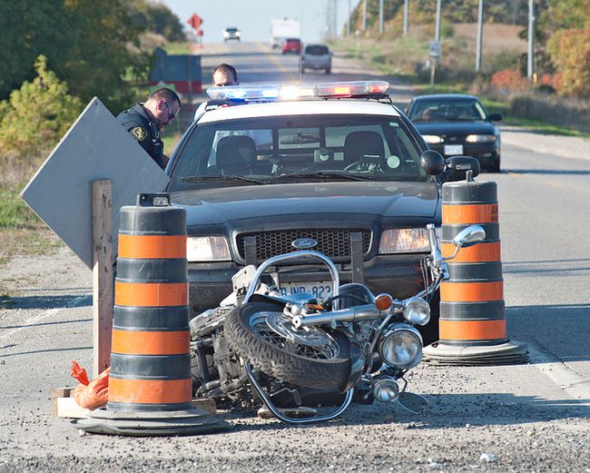 Columnist Kimberlee Taplay is encouraging motorists to be vigilant now that motorcyclists are back on the road. (Brian Thompson/Expositor file photo)
