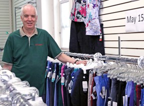 Andrew McLeod, owner of Lasalle Uniform Shoppe, says he's closing the store May 15 after more than 30 years to semi-retire with his wife, Jackie. The two also own a location in Sudbury, which will remain open. Gord Young/The Nugget