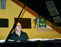 Juno Award winning jazz pianist and composer David Braid performed at a St. James Anglican Church jazz vespers worship service Sunday evening. (Galen Simmons/The Beacon Herald/Postmedia Network)