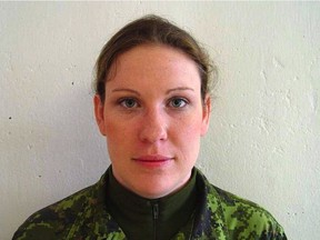 Lt. Shawna Rogers committed suicide in Edmonton in October 2012.