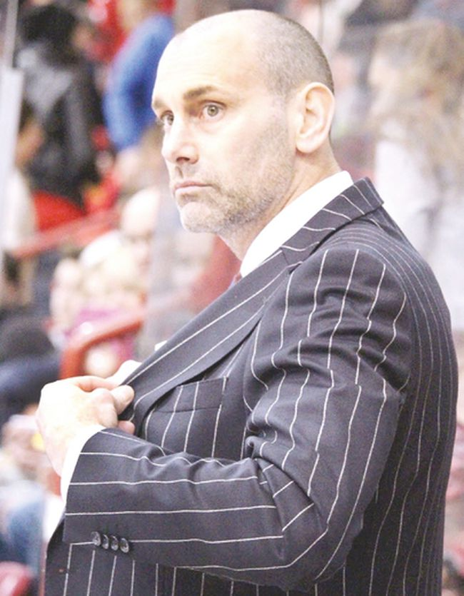 Soo Greyhounds bench boss Drew Bannister is the Ontario Hockey League coach of the year for the 2017-2018 season.