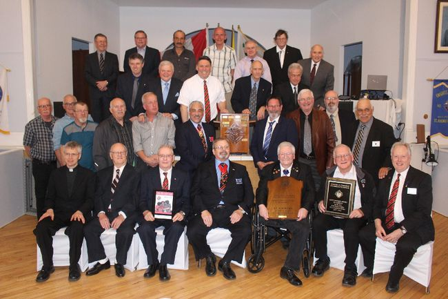 <p>It was an occasion for Knights of Columbus Council 10416 St. Andrews West to celebrate numerous honours, including the biggest of them all, being named recipient of the Best Council In All of Ontario Award, on Saturday, May 5, 2018, in St. Andrews West, Ont. </p><p>