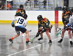 The Rockyview Silvertips Jr. Lacrosse get a much needed win and they got it in fashion with a 21-2 win over the Calgary Axemen on May 6 at Plainsman Arena.