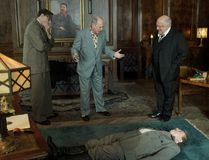 Steve Buscemi (centre) stars in The Death of Stalin, which will be screened Thursday night at the Galaxy Cinemas by the Brantford Film Group. (Associated Press)