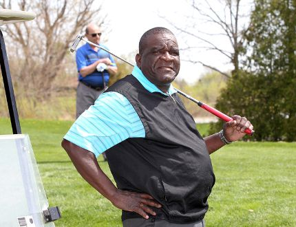 Arnie Palmer, 70, has purchased the Tilbury Golf Club. Palmer worked as a caddy in his native Jamaica. When he first came to Canada he worked as a greenskeeper at the golf course in Woodslee. He then moved to the Tilbury Golf Club, managing the greens and essentially running the place for years. About five years ago, he was one of several investors who purchased the club and made it a public course. Now he has bought out the others and realized his dream of owning a golf course. Side note: he met Arnold Palmer (no relation) when the famous PGA golfer came to Beach Grove years ago. (NICK BRANCACCIO/Windsor Star)
