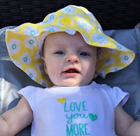 The arrival in January of her first granddaughter, Isabelle, will make this Mother's Day extra special for columnist Kimberlee Taplay. (Submitted Photo)