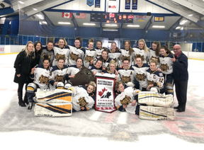 Fort Saskatchewan hockey players Vanessa Verbitsky and Allison Reich in their rookie Midget AAA season helped the St. Albert Slash take provincials, Pacifics and recent the national championship title at the Esso Cup.