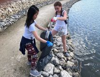 Staff and students of West Park School in Altona held their 30th annual Cleanathon on May 7, raising pledges and cleaning up the community, to raise funds for Blue Sky Opportunities.