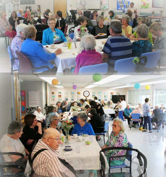 Extended Care residents at Fairview Health Complex celebrated the approach of Mother's Day with a Tea and Bake Sale on May 8. The event was very well attended by friends and family and the baked goods sold quite quickly.