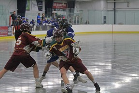 The Rockyview Silvertips Jr B Tier 1 hosted The Calgary Chill at the Plainsman Arena on May 11 and lost 15-10 in what a close game throughout. The Chill took over in the third period and won the game.