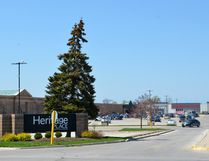 Heritage Place mall is for sale. The east side of mall, with its three recent additions in the former Zellers location, are shown in this photo taken Wednesday. (Scott Dunn/The Sun Times)