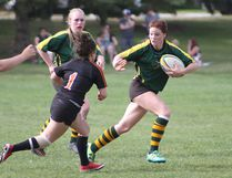 The Sting senior girls rugby faced off against M.E. LaZerte High School on May 14 at the Jubilee Recreation Centre field.