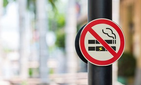 Strathcona County's tabled draft Smoking Bylaw, which received first reading from council, would apply to smoking of any substance, as well as vaporizers. Photo courtesy Strathcona County