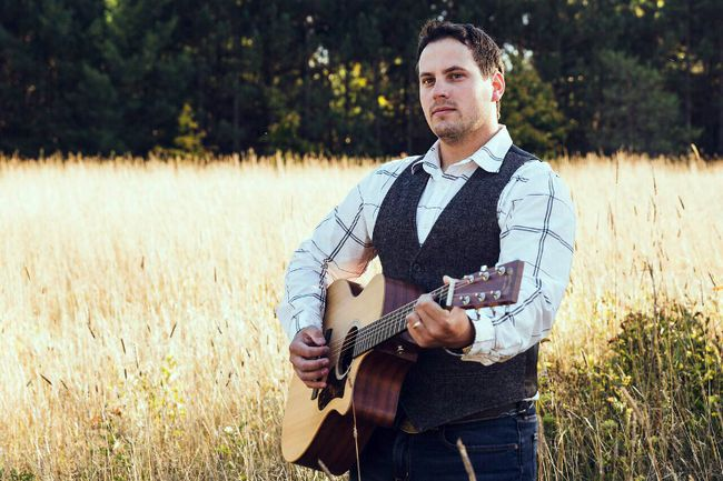 Brendan Hodgson releases his debut album, Coming Home, at The Tech on May 24. (MEGHAN KENT PHOTO)