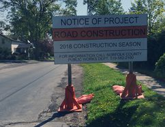 The discovery of contaminated soil has added to the price tag for reconstruction of Temperance Street in Waterford. Kim Novak/Simcoe Reformer