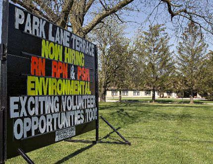 Park Lane Terrace in Paris is advertising for employees. (Brian Thompson/The Expositor)