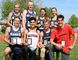The overall division winners at the 2018 LKSSAA track and field championship are, front row, left: Tye Douma of Chatham-Kent, senior boys; Jaden Wilson of McGregor and Jeff Carey of Ursuline, midget boys; and Carter Barron of Northern, junior boys. Back row: Payton Sabourin of Chatham-Kent, senior girls; Camille Blain and Anna Trinca of Chatham-Kent, junior girls; and Emma Pegg of Chatham-Kent, midget girls. (Mark Malone/Postmedia Network)