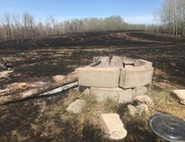 Strathcona County is warning residents to properly extinguish any fires in pits to avoid sparking a fire. Photo courtesy Strathcona County