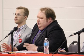 Tim Hodges, of the Freedom Party, is running for Oxford MPP in the June 7 provincial election. (Chris Funston/Sentinel-Review)