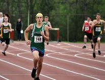Photo courtesy of Rick Schroeder Valour's Sean Doughty won the boys 400-metre dash during the Renfrew County Track and Field Championships held on May 15 in Ottawa.