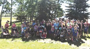 Last year's Walk for CF saw 43 Beaumont residents come out to support the cause.