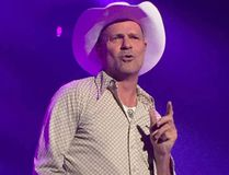 Gord Downie from The Hip concert at Rogers K-Rock Centre in 2015. Bill Welychka