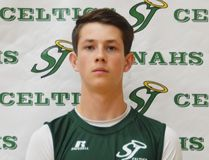 PHOTO SUPPLIED St Joe's volleyball player Mitchel Gorman is headed to Mount Royal University to play Canada West volleyball for the Cougars.
