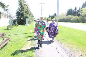 The Melfort Salvation Army team donned colourful costumes for the annual Blue Cross MS Walk in Melfort on May 27. Their enthusiasm earned them the Spirit Award.