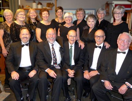 PHOTO COURTESY OF THE HIGH RIVER LIBRARY. Riverwind a cappella group will perform two spring showcases this season.
