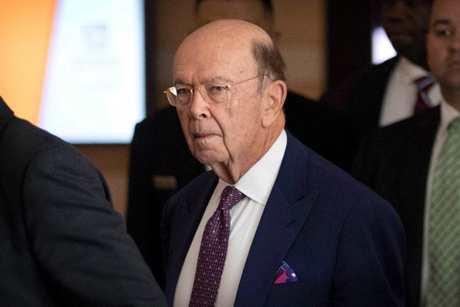 U.S. Commerce Secretary Wilbur Ross leaves his hotel in Beijing, Friday. Ross says the U.S. will slap tariffs on Canadian, Mexican and European Union steel and aluminium as of midnight tonight. THE CANADIAN PRESS/AP, Mark Schiefelbein
