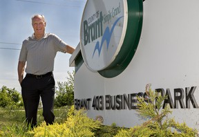 Paul Emerson is retiring as chief administrative officer for the County of Brant. (Brian Thompson/The Expositor)