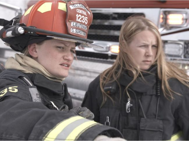 Gabby Sundstrom is a firefighter in Edson and part of the Discovery series, Hellfire Heroes, a reality television program.