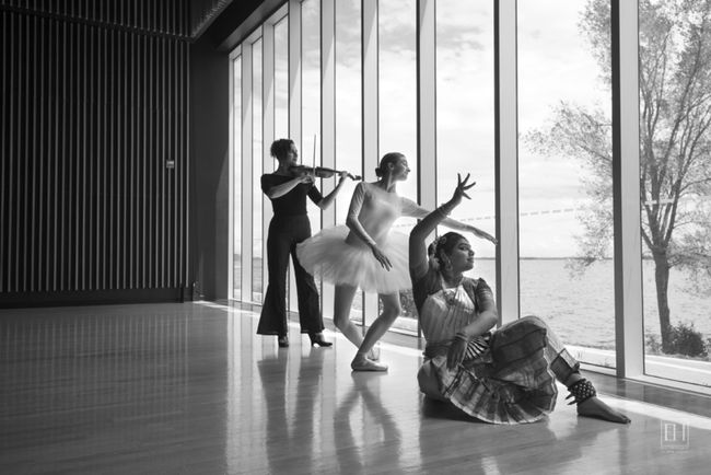 """Elizabeth Hesp's """"Visual Rhythms Architecture Dance Music"""" opened at the Isabel Bader Centre for the Performing Arts this week."""