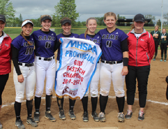 The Stonewall Collegiate Institute Rams girls fastpitch team won gold at MHSAA's girls provincial fastpitch championships in Winkler on June 1 and 2. (Greg Vandermeulen/Postmedia Network)