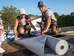 A qualilty underlay felt is important when roofing, says our handyman. Postmedia Network