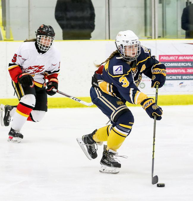 Sherwood Park's Shyla Kirwer has agreed to join the MacEwan Griffins. Photo courtesy Two Point Photography