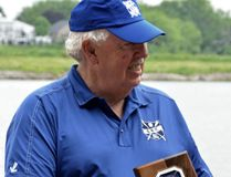 Larry Holmes received the Canadian Secondary Schools Rowing Association's lifetime service award at the national high school championships recently held in his birthplace St. Catharines. (Contributed photo)