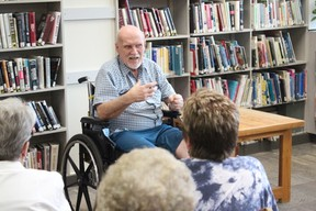 """Local author Jerry Hammersmith launched his historical fiction book """"Letters to Mary Susan"""" at the Melfort Public Library on June 7."""