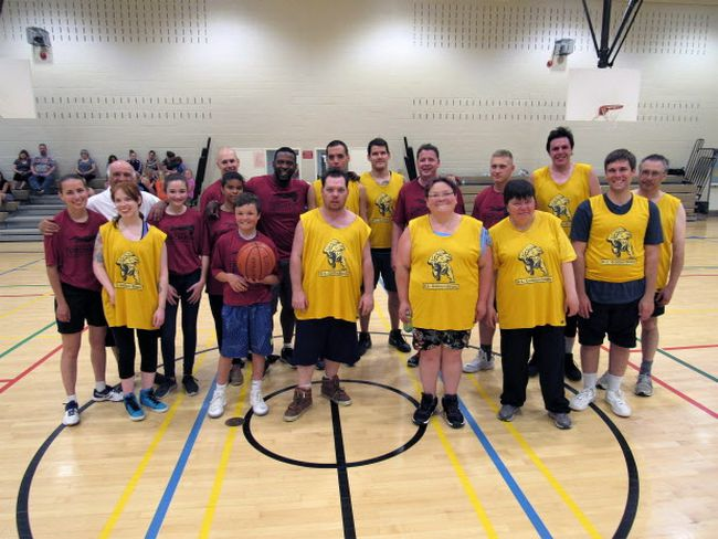 The KL Community Living Golden Bears took on a team from the KL OPP in their annual challenge match up.