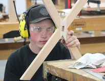 Kincardine District Secondary School's David Ballagh earned a bronze in competition against other provincial champions during the June 1, 2018 National Competition of Skills Canada in Edmonton.